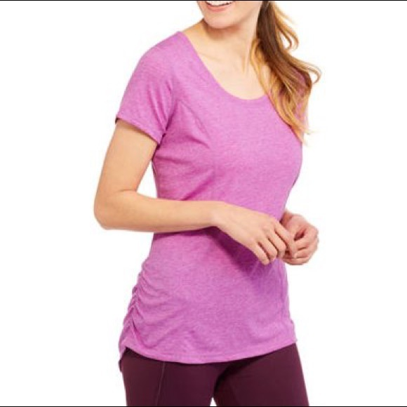 Athletic Works Tops | 525 Womens Active Tshirt With Side Ruching | Poshmark